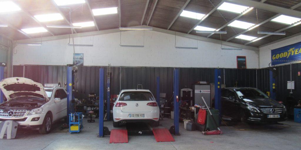 Garage de Lèves