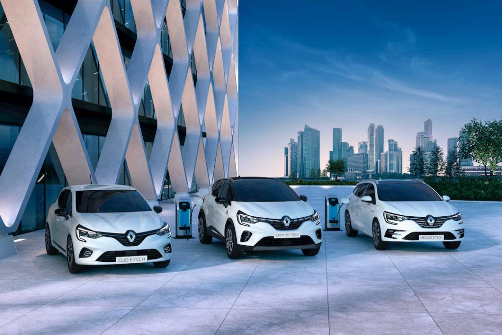 Gamme Renault E-tech