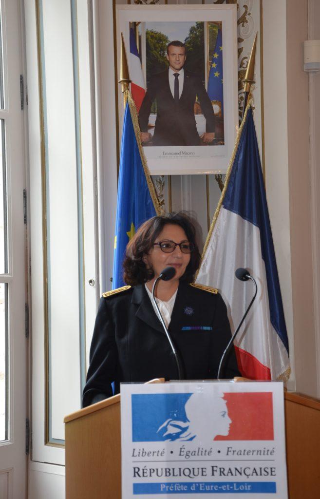 Fadela Benrabia Préfète d'Eure-et-Loir