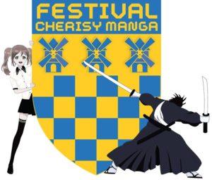 AFFICHE FESTIVAL CHERISY MANGA