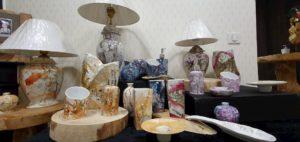 Création en porcelaine - Crédit : ARTOUTCOEUR