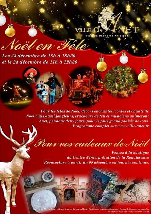 Noël en fête - Crédit : Ville d'Anet